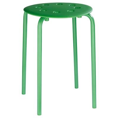 MARIUS Stool, green, 45 cm