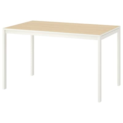 MELLTORP table ash/white 125 cm 75 cm 74 cm