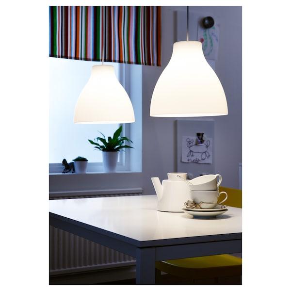 MELODI Pendant lamp, white, 38 cm