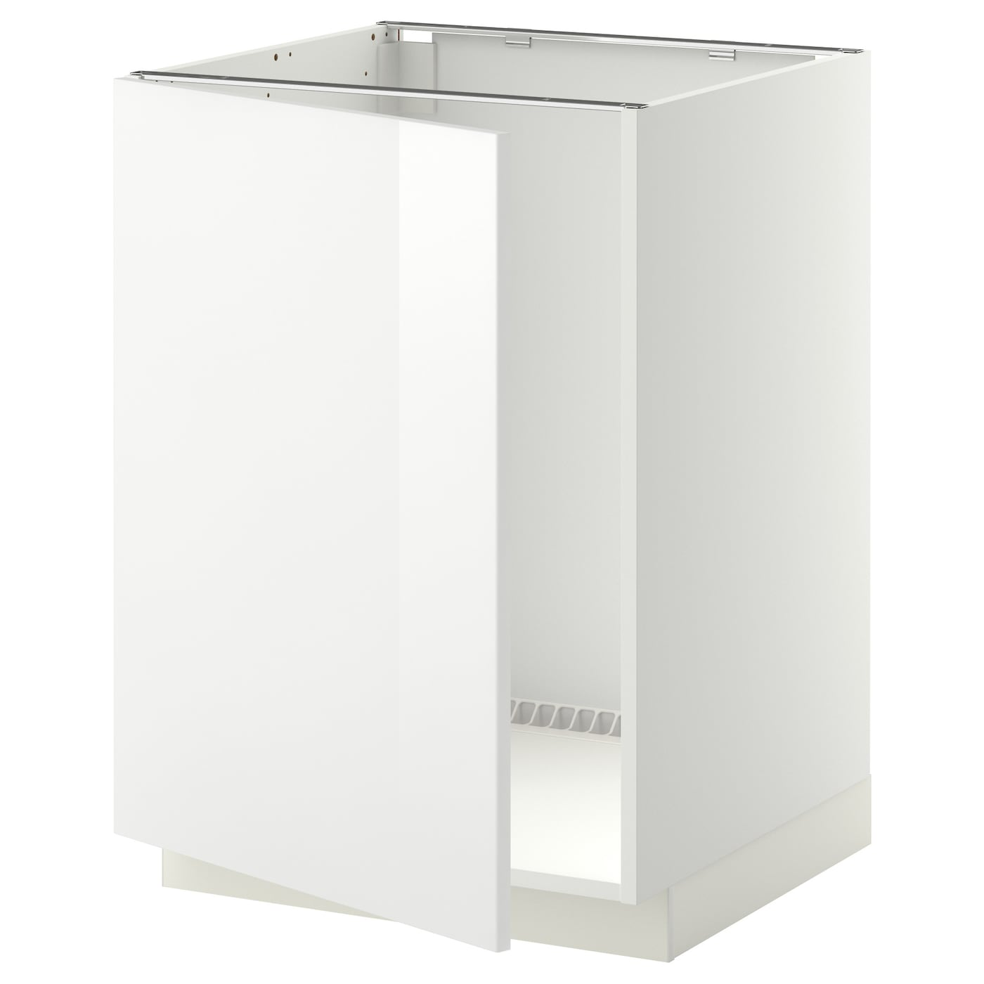 METOD Base cabinet for sink - white, Ringhult white - IKEA