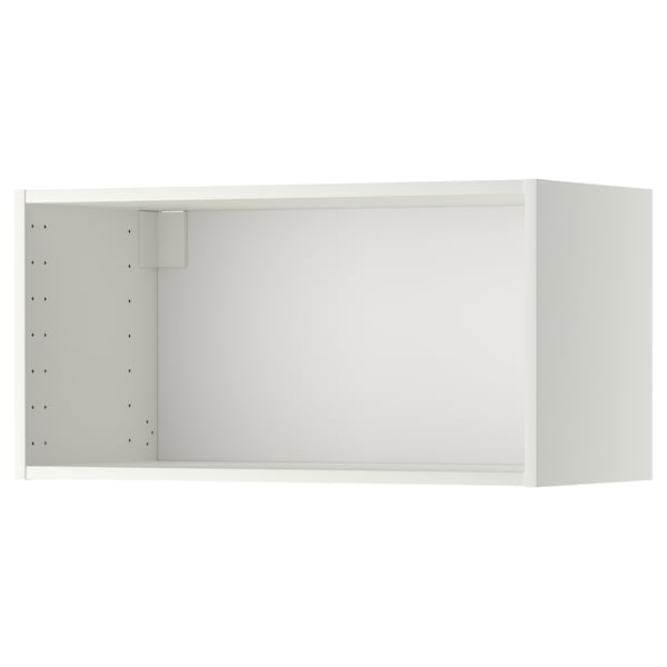 METOD Wall cabinet frame, white, 80x37x40 cm