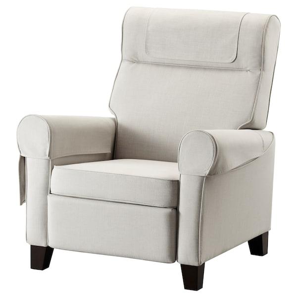 Wondrous Recliner Muren Nordvalla Beige Unemploymentrelief Wooden Chair Designs For Living Room Unemploymentrelieforg