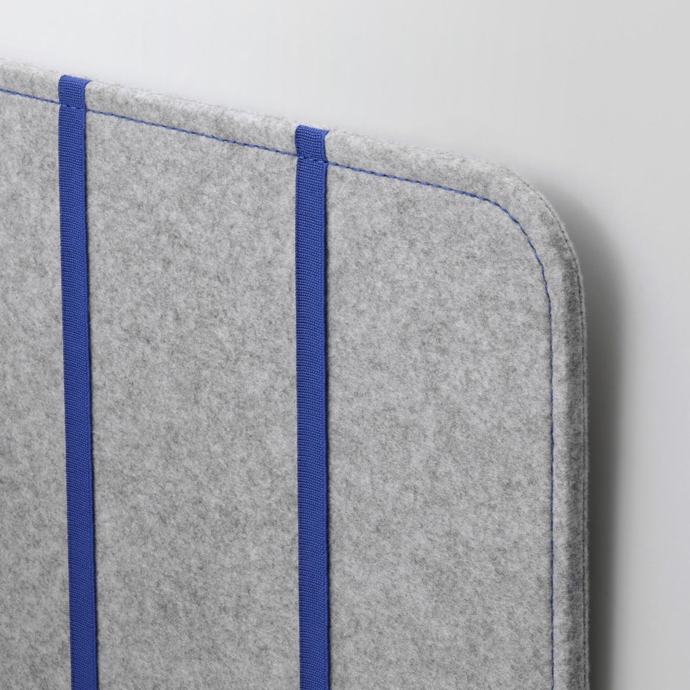 ÖVNING Desk divider with compartments