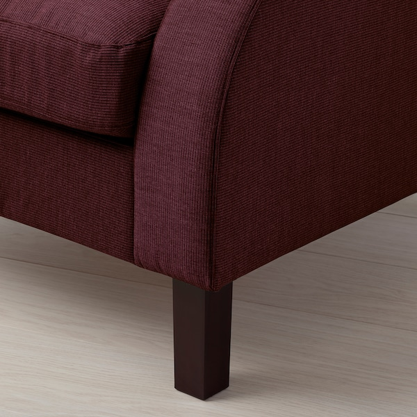 ORMARYD Armchair, dark red