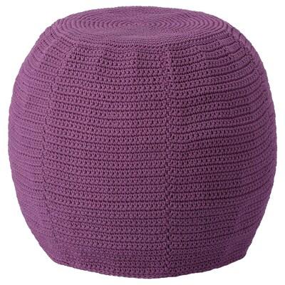 OTTERÖN / INNERSKÄR pouffe, in/outdoor purple 41 cm 48 cm