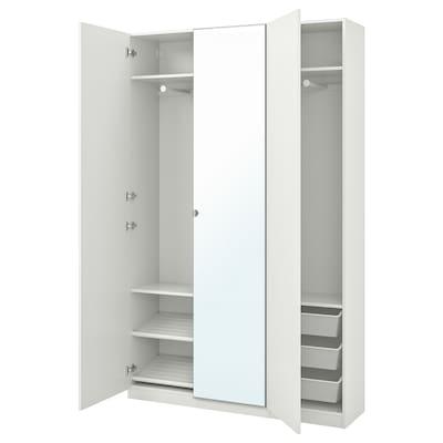 PAX Wardrobe, white/Forsand Vikedal, 150x38x236 cm
