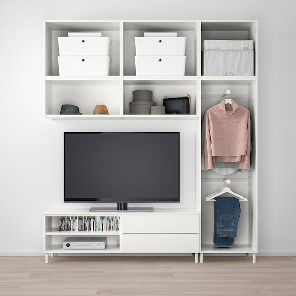 PLATSA media storage combination 220 cm 42 cm 251 cm 25 kg
