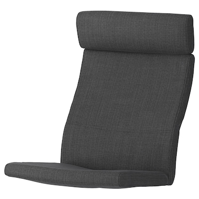 POÄNG Armchair cushion, Hillared anthracite