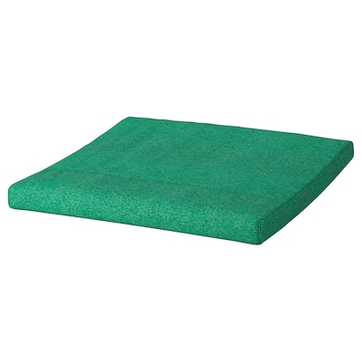 POÄNG Footstool cushion, Lysed bright green