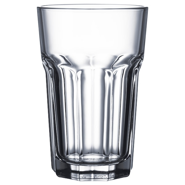 POKAL Glass, clear glass, 35 cl 4 pack
