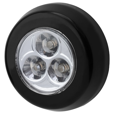 RAMSTA LED minilamp battery-operated black 2 cm 7 cm