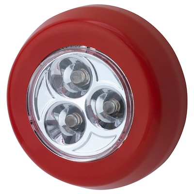 RAMSTA LED minilamp battery-operated red 2 cm 7 cm