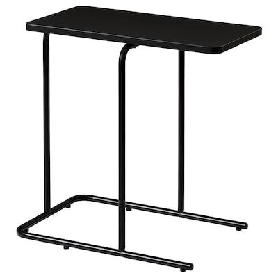 RIAN Side table, black, 50x30 cm