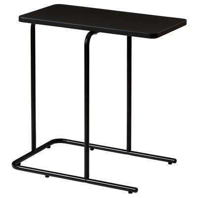 RIAN side table black 50 cm 30 cm 50 cm