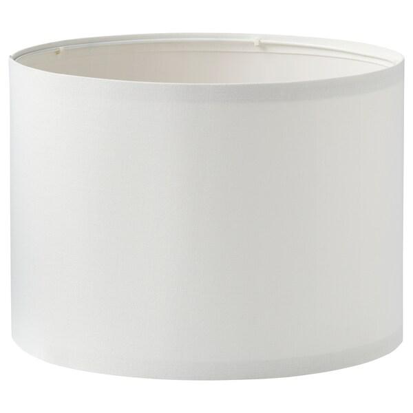 RINGSTA / SKAFTET Table lamp, white/nickel-plated, 56 cm