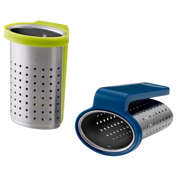 SAKKUNNIG Tea infuser, light green/blue