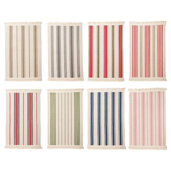 Signe Rug Flatwoven Orted Colours