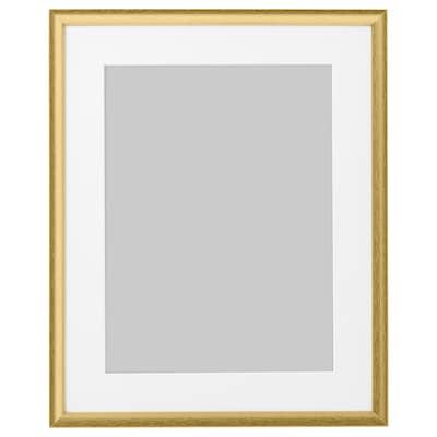SILVERHÖJDEN Frame, gold-colour, 40x50 cm