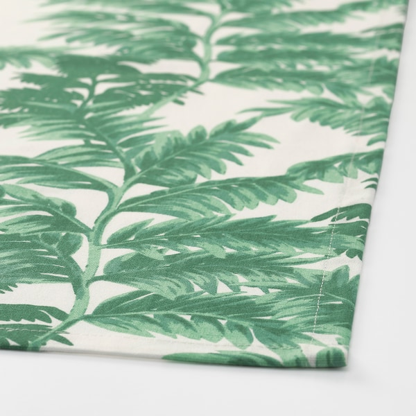 SILVERPOPPEL tea towel patterned green/white 70 cm 50 cm 2 pack