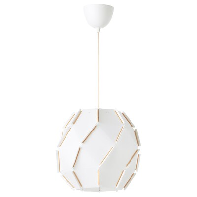 SJÖPENNA pendant lamp round 22 W 32 cm 35 cm 1.5 m