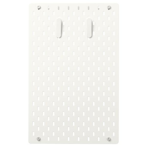SKÅDIS Pegboard combination, white, 36x56 cm