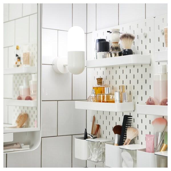 SKÅDIS Shelf, white