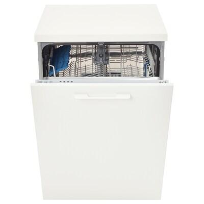 SKINANDE Integrated dishwasher, grey