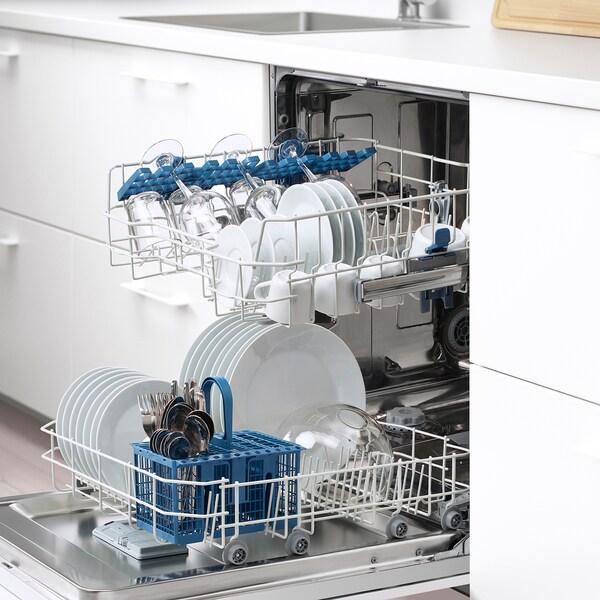 SKINANDE Integrated dishwasher, grey - IKEA