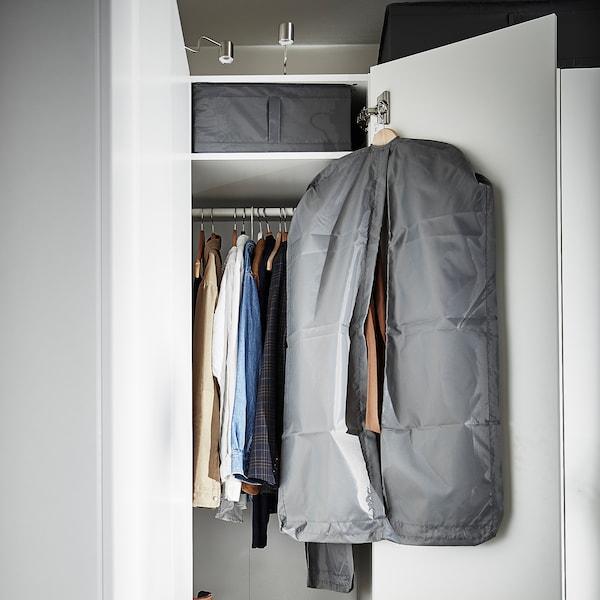 SKUBB Storage case, dark grey, 44x55x19 cm