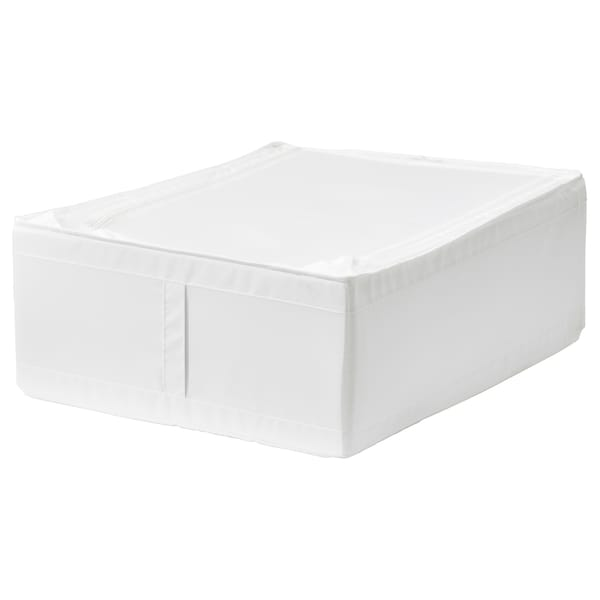 SKUBB Storage case, white, 44x55x19 cm