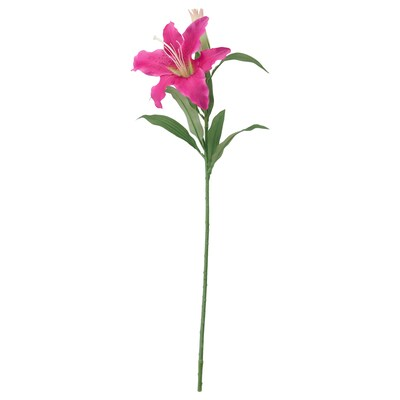 SMYCKA Artificial flower, Lily/pink, 85 cm