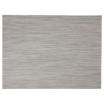 SNOBBIG Place mat, light grey, 45x33 cm