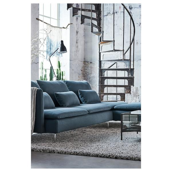 SÖDERHAMN Chaise longue - Finnsta turquoise - IKEA