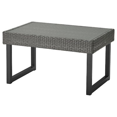 SOLLERÖN coffee table, outdoor anthracite/dark grey 92 cm 62 cm 51 cm