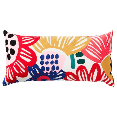 SOMMARASTER cushion white/multicolour 30 cm 60 cm 280 g 360 g