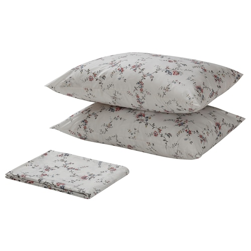 IKEA STENÖRT Flat sheet and 2 pillowcase