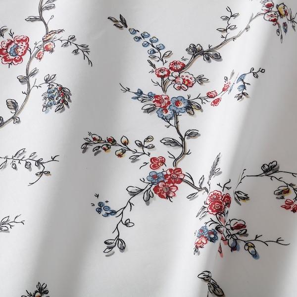 STENÖRT flat sheet and 2 pillowcase flower 250 /inch² 2 pack 50 cm 80 cm 240 cm 260 cm