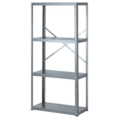 STIGBJÖRN shelving unit 75 cm 35 cm 155 cm 75 kg