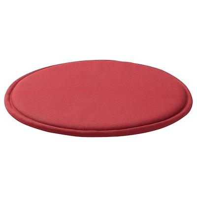 SUNNEA Chair pad, red/Lofallet, 36x2.5 cm