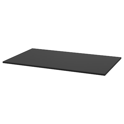 TÄRENDÖ Table top, black, 110x67 cm