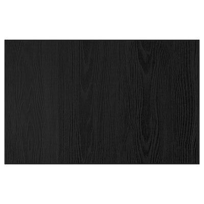 TIMMERVIKEN Door/drawer front, black, 60x38 cm