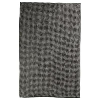 TOFTBO Bath mat, grey, 40x60 cm