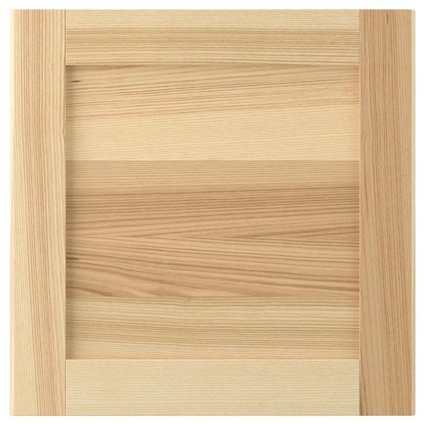 TORHAMN Door, natural ash, 40x40 cm