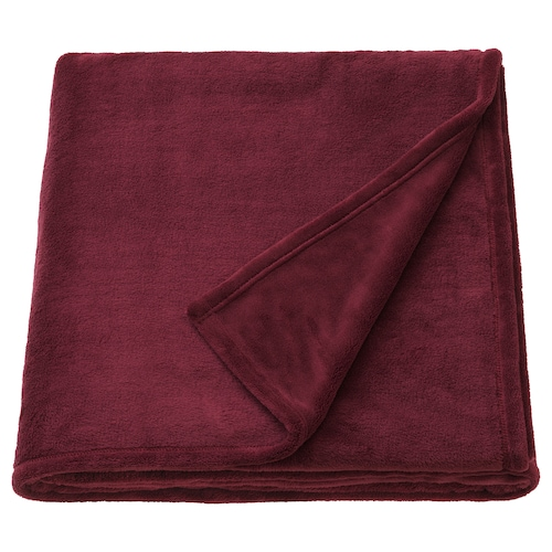 TRATTVIVA bedspread dark red 250 cm 150 cm