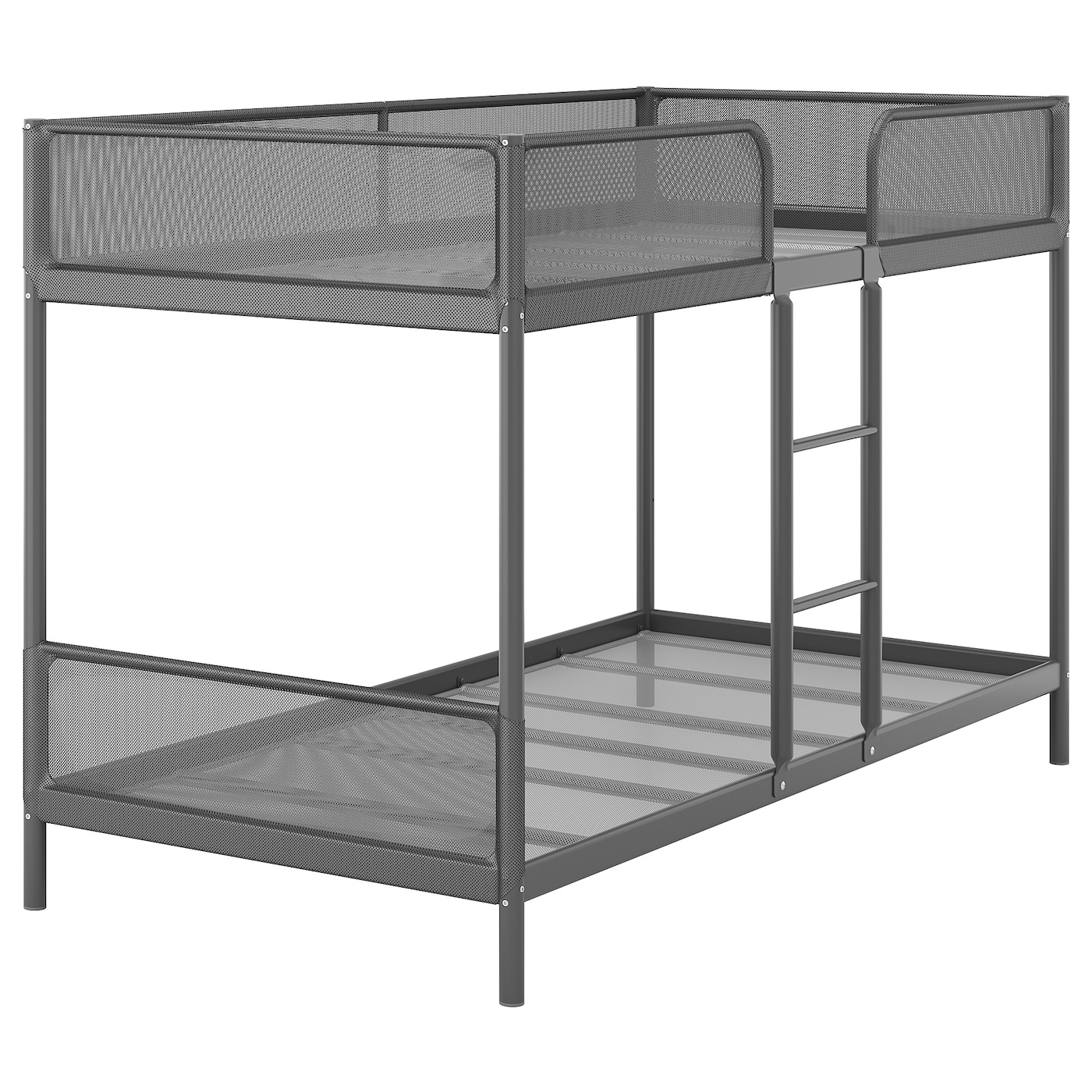 Picture of: Tuffing Bunk Bed Frame Dark Grey 90×200 Cm Ikea