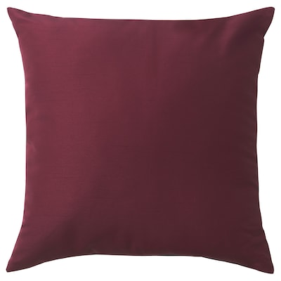 ULLKAKTUS cushion dark red 50 cm 50 cm 300 g 370 g