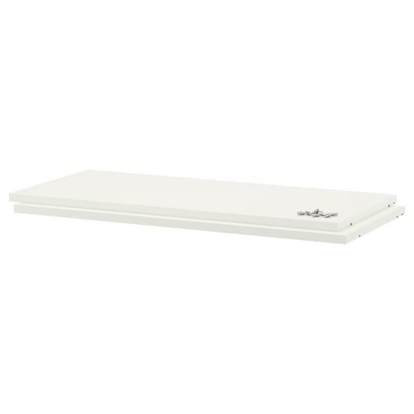 UTRUSTA Shelf, white, 80x37 cm