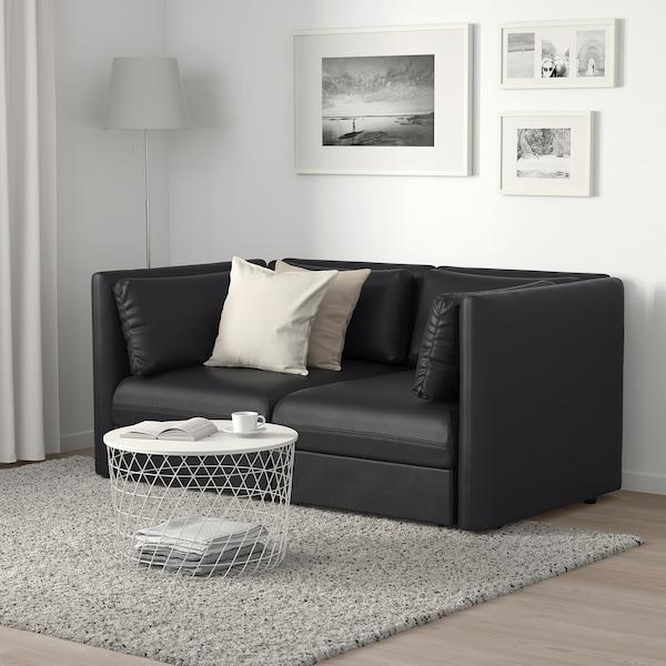 VALLENTUNA 2-seat modular sofa, Murum black