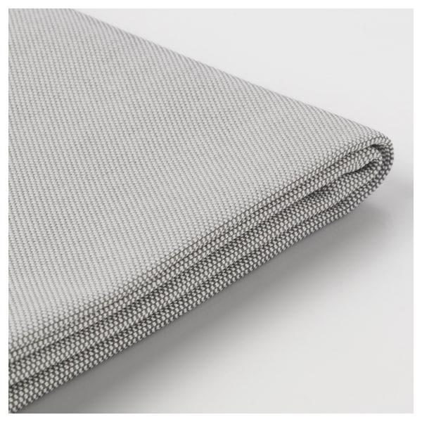 VALLENTUNA Cover for back rest, Orrsta light grey, 100x80 cm