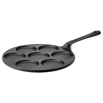 VARDAGEN Blini/pancake pan, cast iron, 28 cm